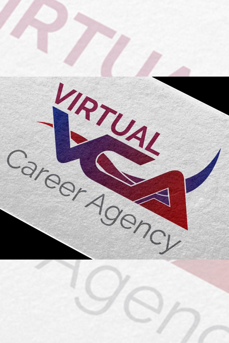 """Plantilla De Logotipo """"Virtual Career Agency"""" #87122"""