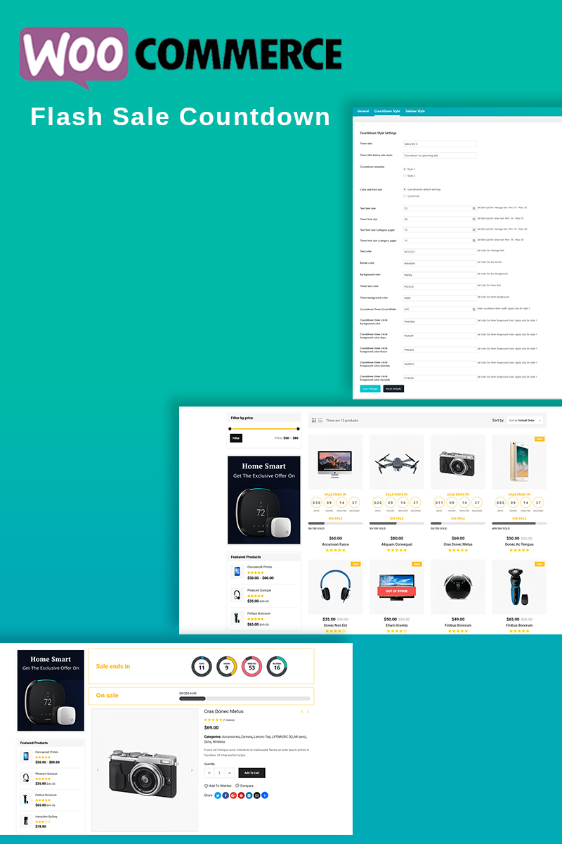 "Plugin De WordPress ""WooCommerce Flash Sale Countdown"" #87191 - captura de pantalla"