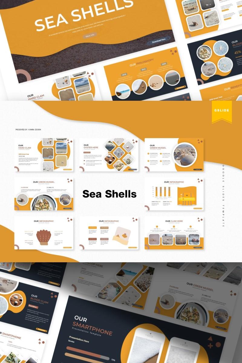 Sea Shells | Google Slides №87155 - captura de tela