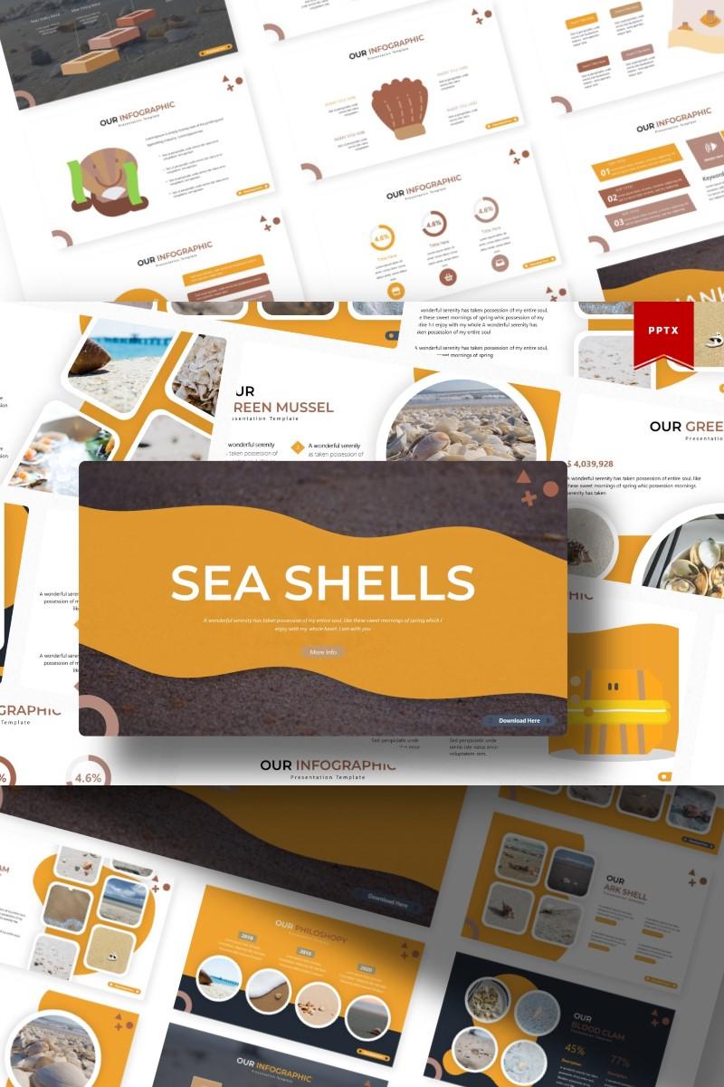 Sea Shells | PowerPoint Template - screenshot