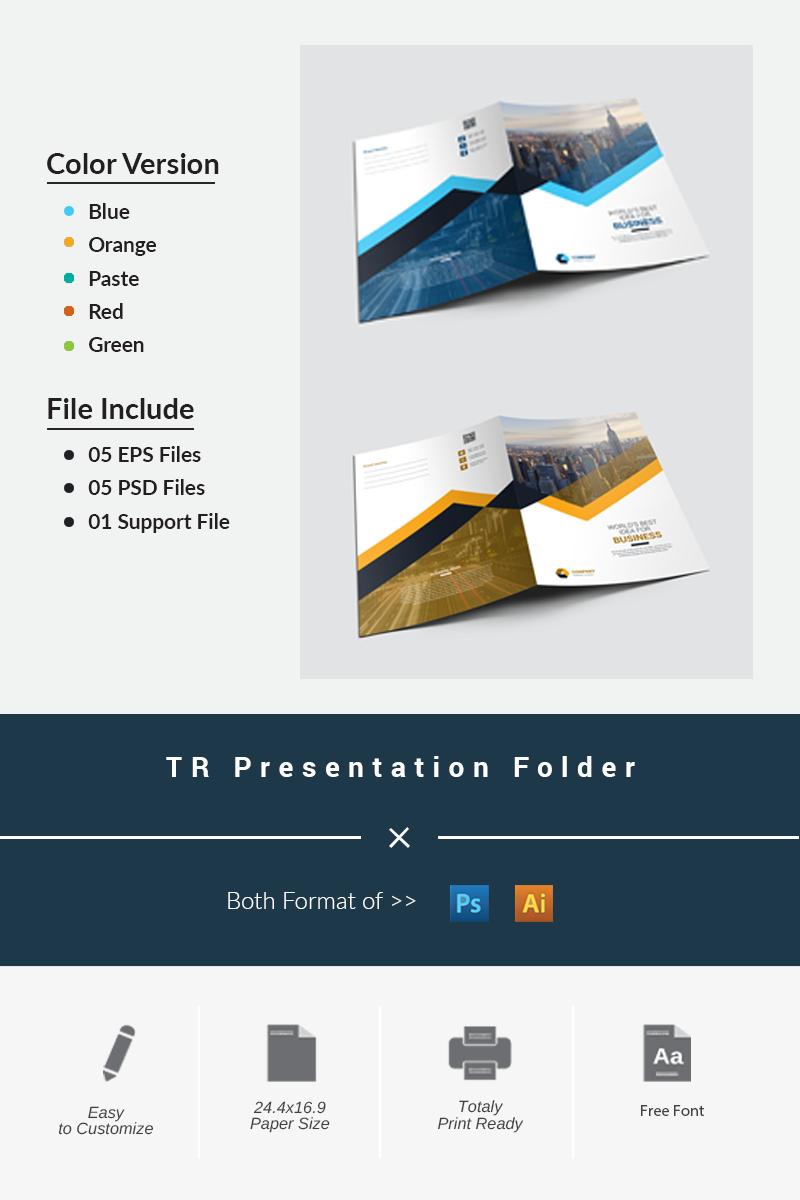 """TR Presentation"" Bedrijfsidentiteit template №87196"