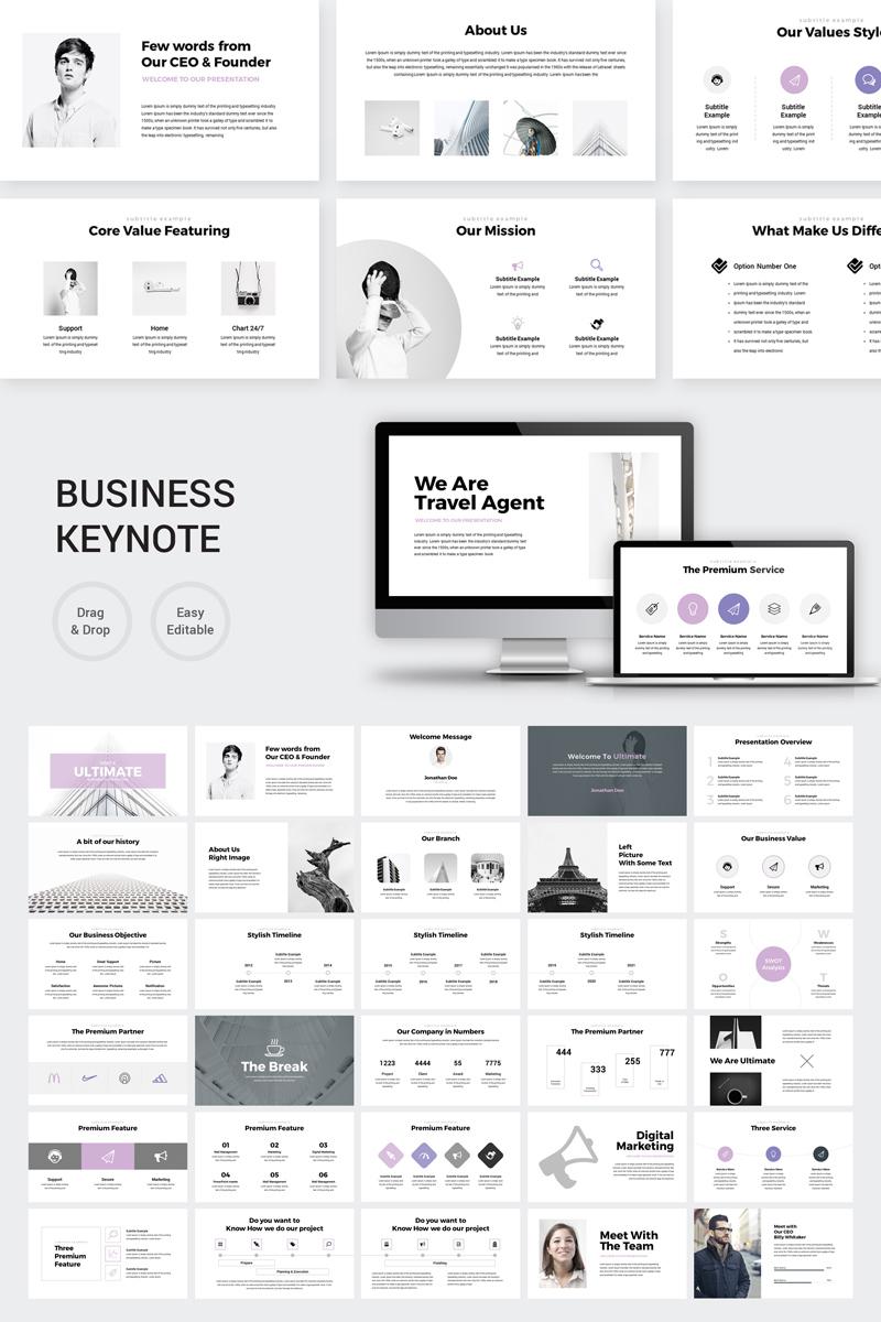 Ultimate - Marketing Plan Keynote sablon 87176