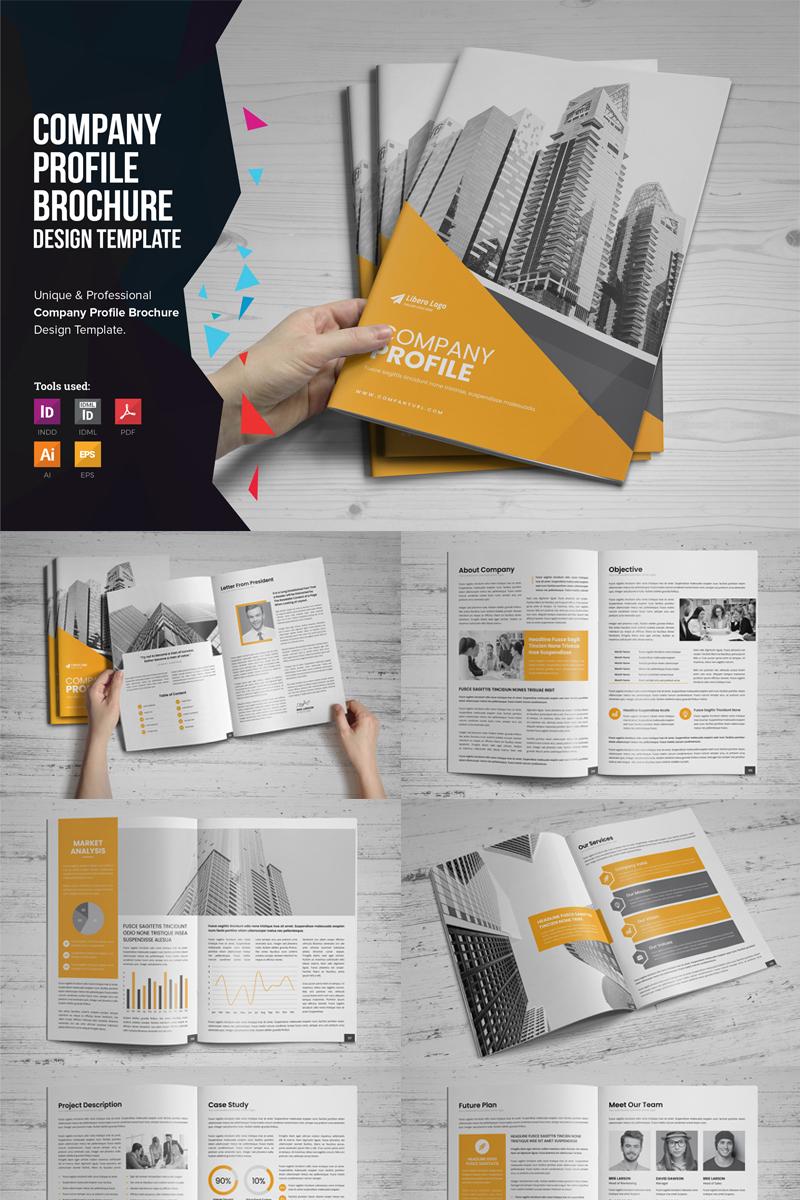 "Unternehmensidentität Vorlage namens ""Afra - Company Profile Brochure"" #87165"