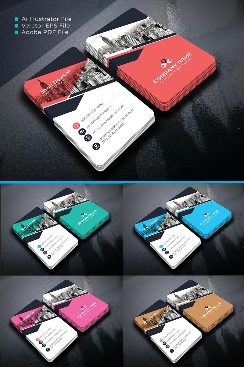 """Unternehmensidentität Vorlage namens """"Artisgraph Business Card"""" #87108 - Screenshot"""