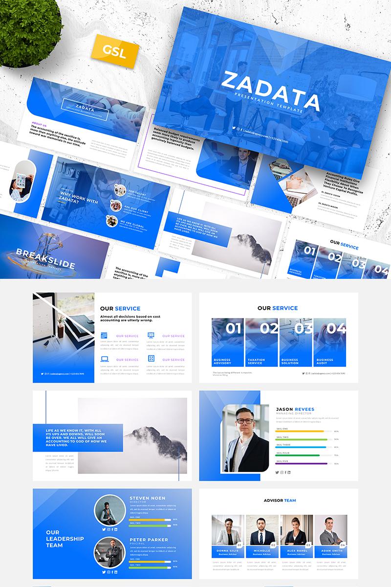 Zadata-Creative Business Presentation Google Slides