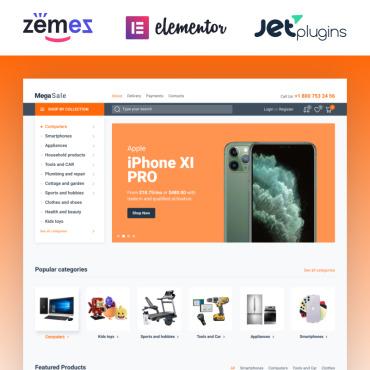 Купить  пофессиональные WooCommerce шаблоны. Купить шаблон #87223 и создать сайт.