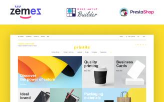 Printile - Print Shop Ecommerce Template PrestaShop Theme