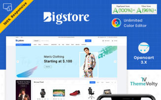Big Store - Mega Electronics Shop OpenCart Template