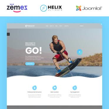 Купить  пофессиональные Joomla шаблоны. Купить шаблон #87262 и создать сайт.