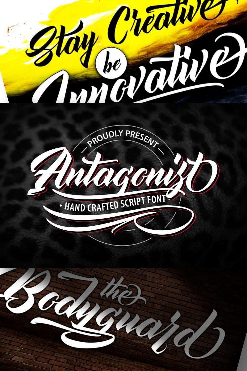 Antagonis | Handcrafted Script Font