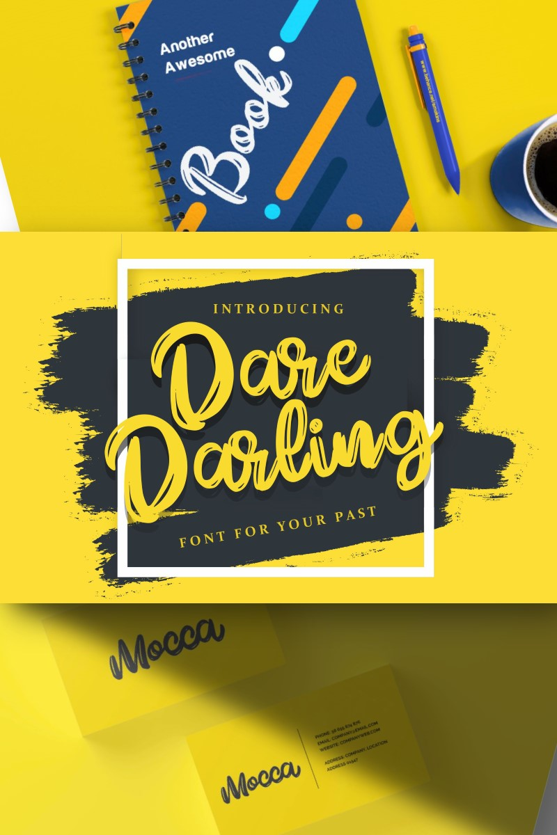 """Dare Daling | Script Brush"" - Шрифт №87210"