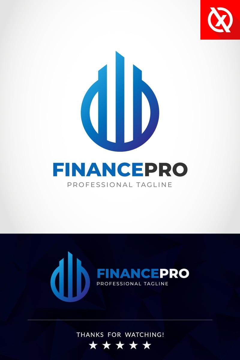 """Finance Pro"" modèle logo Premium #87293"