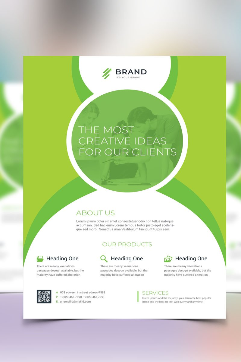 Flyer Vol_ 4 Corporate Identity Template