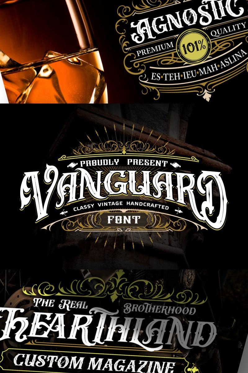 "Font ""Vanguard | Classy Vintage Handcrafted"" #87217"