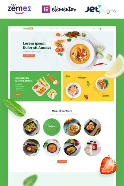 GoodFood - Stylish Organic Food Template