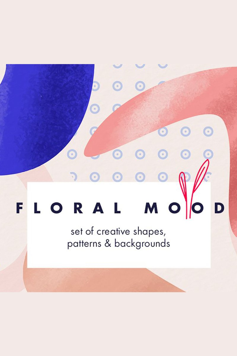 "Ilustración ""Floral Mood Collection"" #87245"