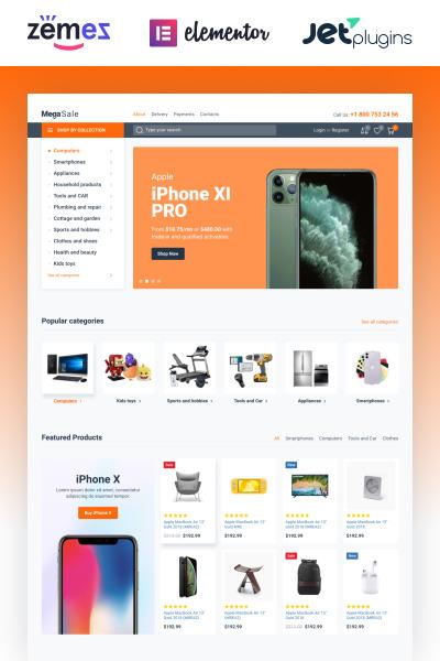 MegaSale - Innovative Online ECommerce Super Market