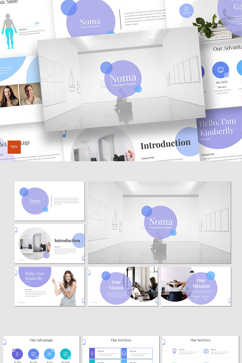 Noma Template PowerPoint №87236