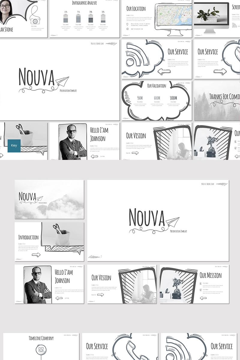 """Nouva"" Keynote Template №87268"