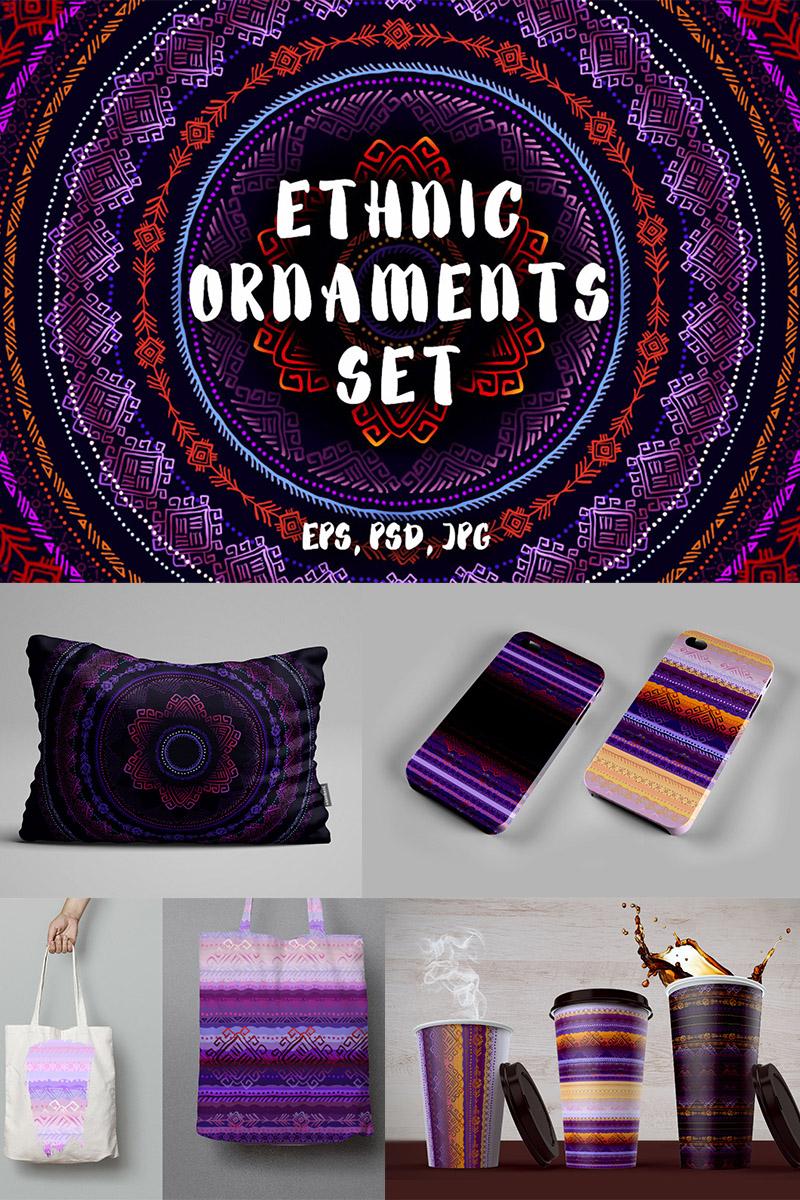 "Pattern ""Ethnic Ornaments Set"" #87242"
