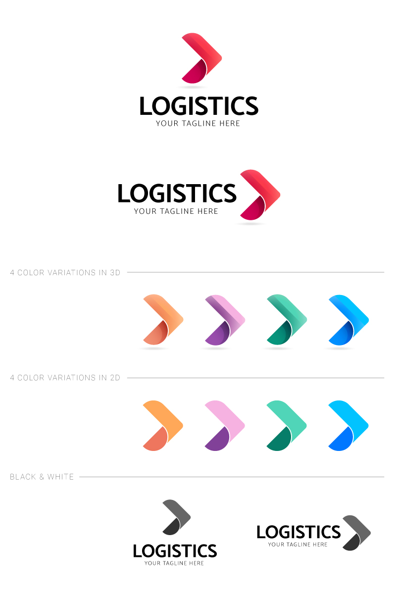 """Plantilla De Logotipo """"Transport"""" #87235"""