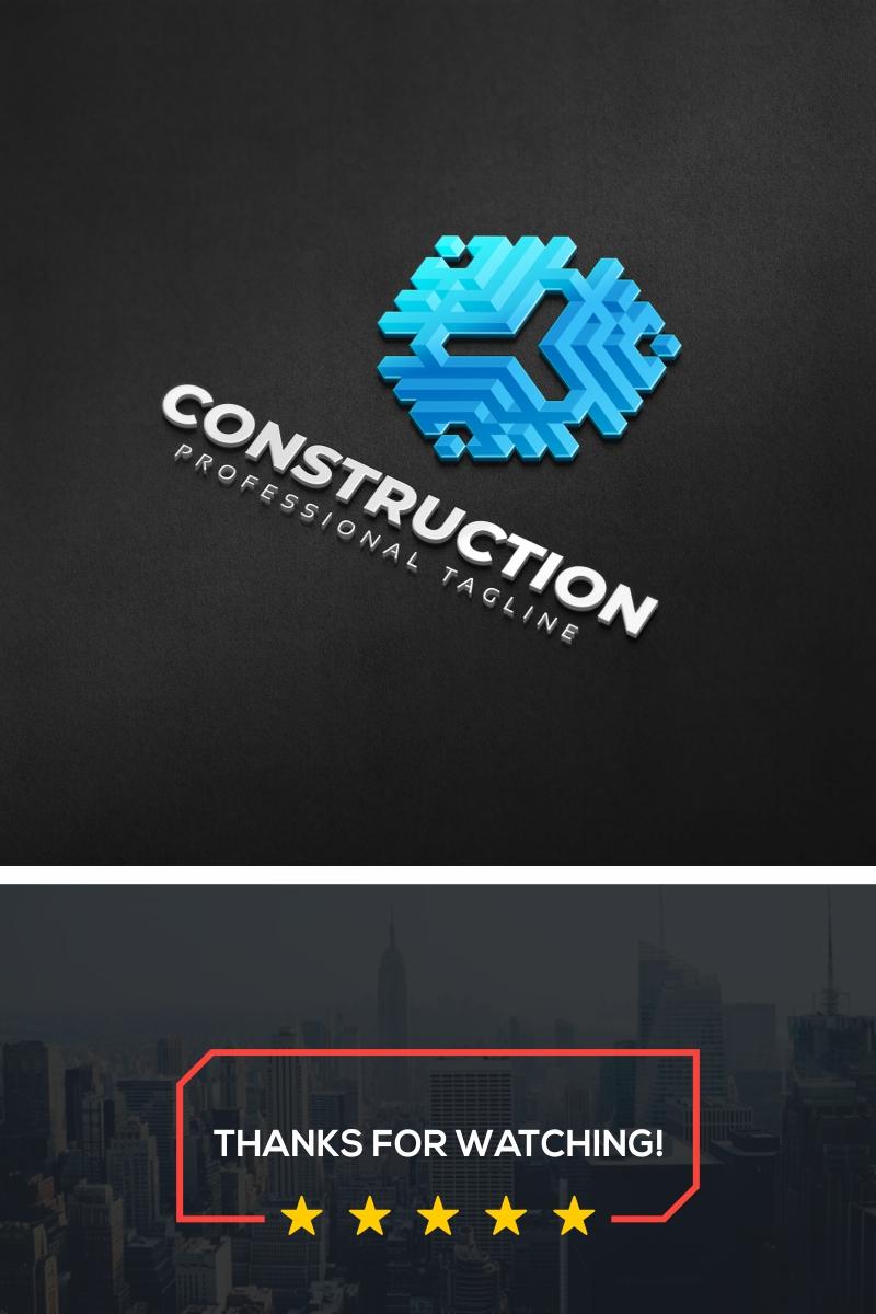 "Šablona logotypu ""Construction"" #87291"