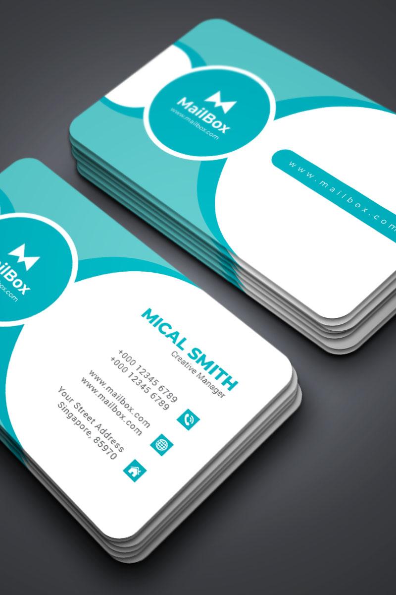 Szablon tożsamości korporacyjnej Business Card Vol_1 #87297