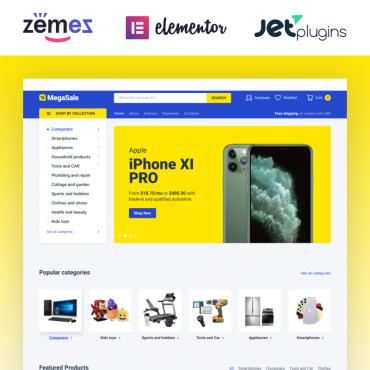 Купить  пофессиональные WooCommerce шаблоны. Купить шаблон #87318 и создать сайт.