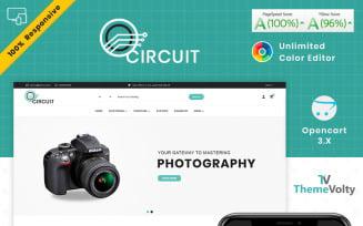 Circuit - Electronics Store OpenCart Template