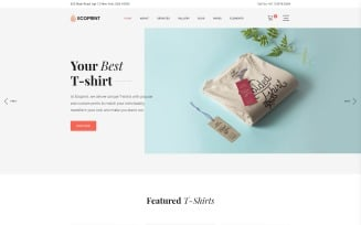 Ecoprint - Print Store Multipage Clean HTML Website Template