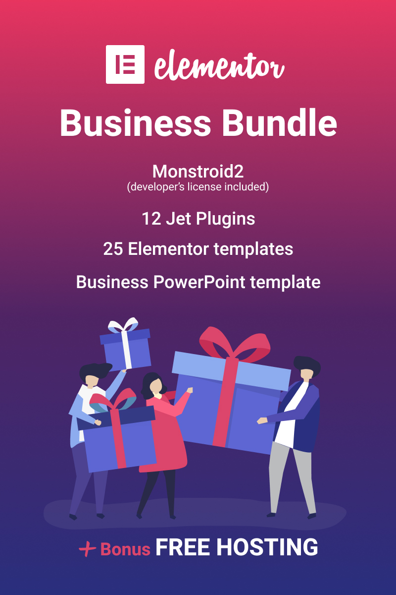 """Elementor Business"" - Bundle №87323"