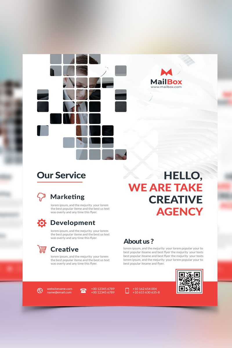 Flyer Vol_ 1 Template de Identidade Corporativa №87307
