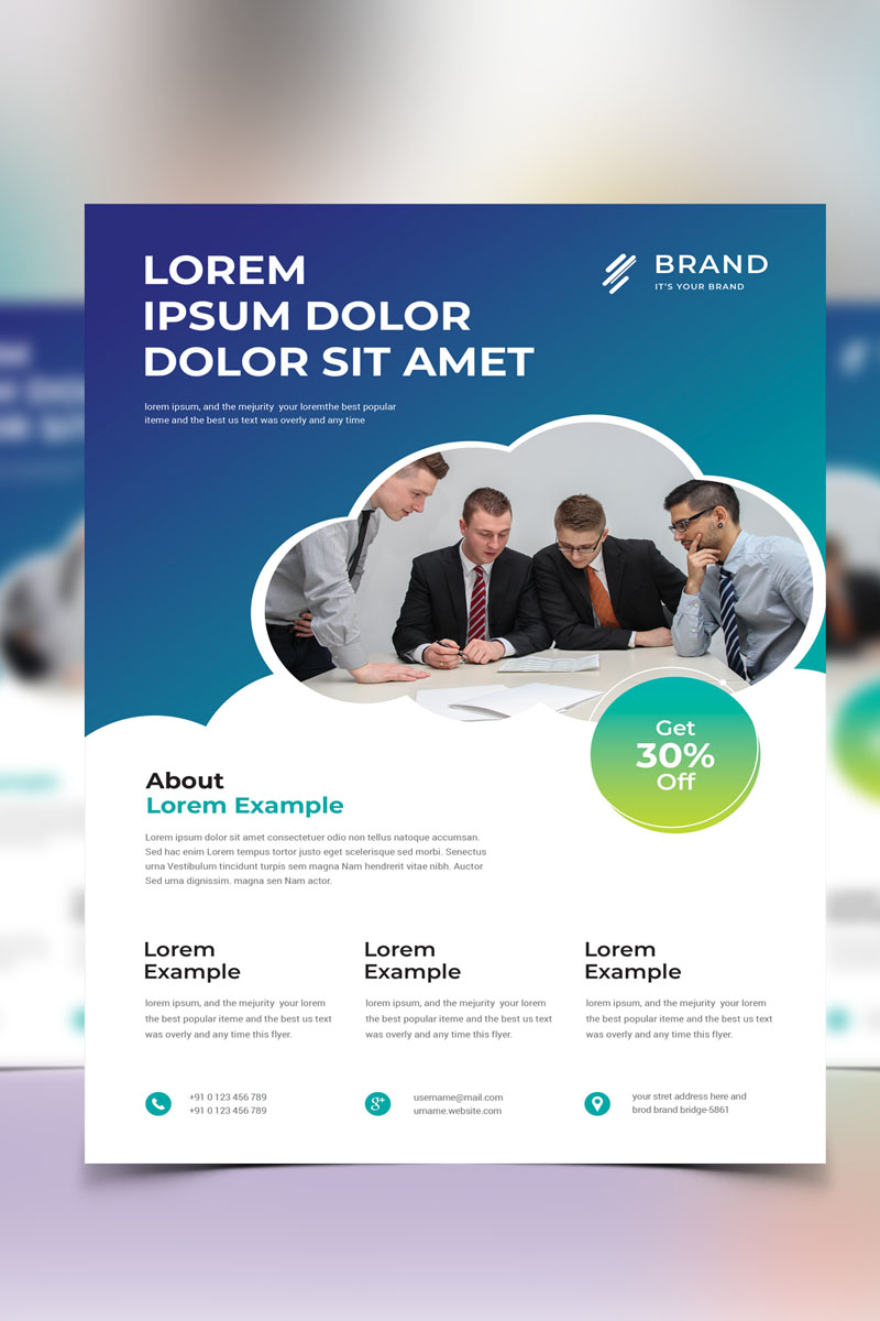 Flyer Vol_ 2 Corporate Identity Template