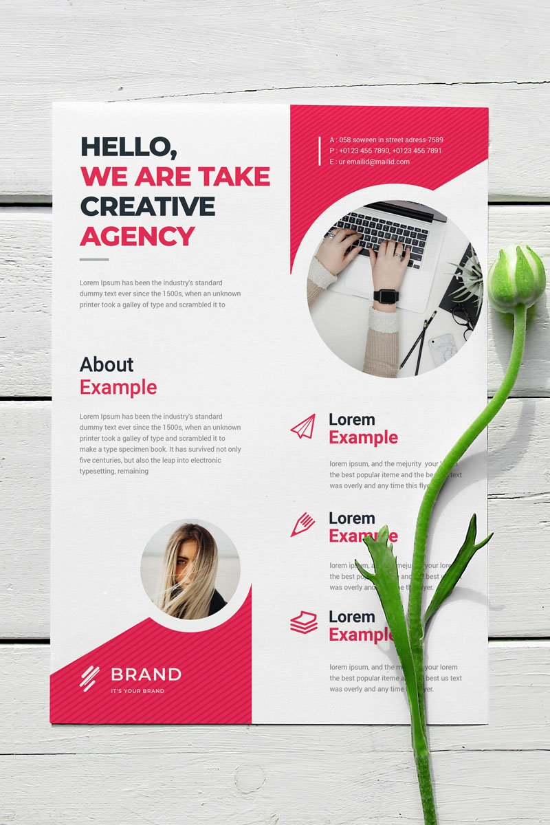 Flyer Vol_ 3 Corporate Identity Template