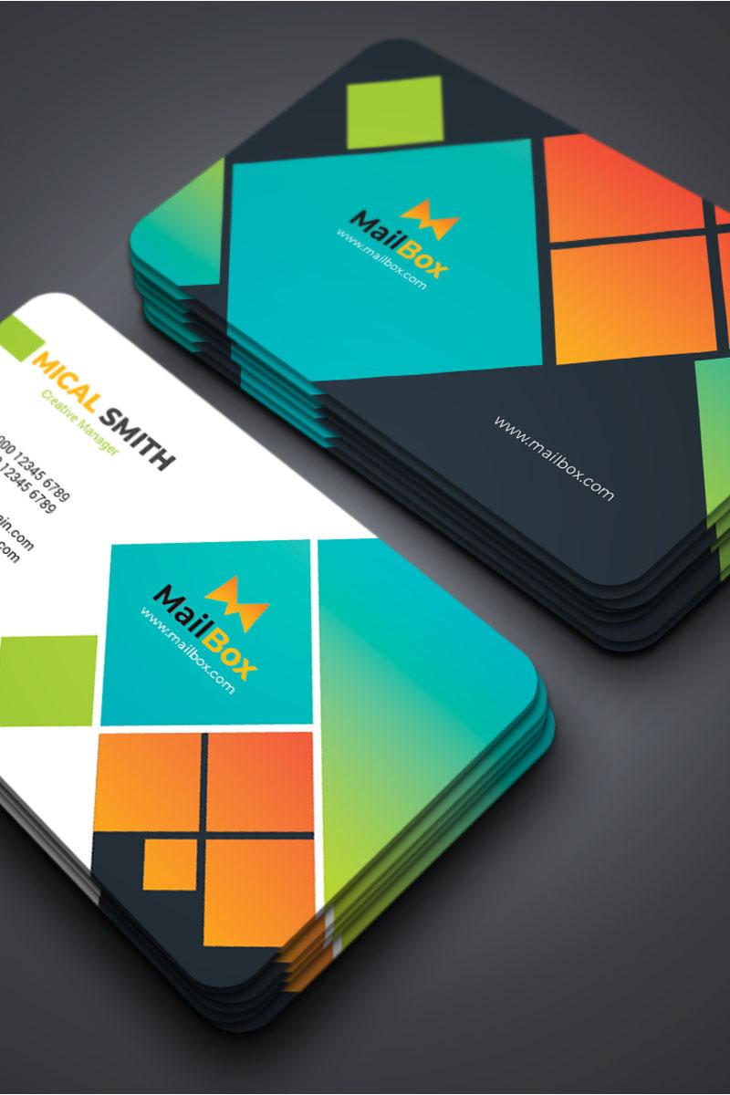 """""""Mailbox - Business Card templste"""" Bedrijfsidentiteit template №87309"""