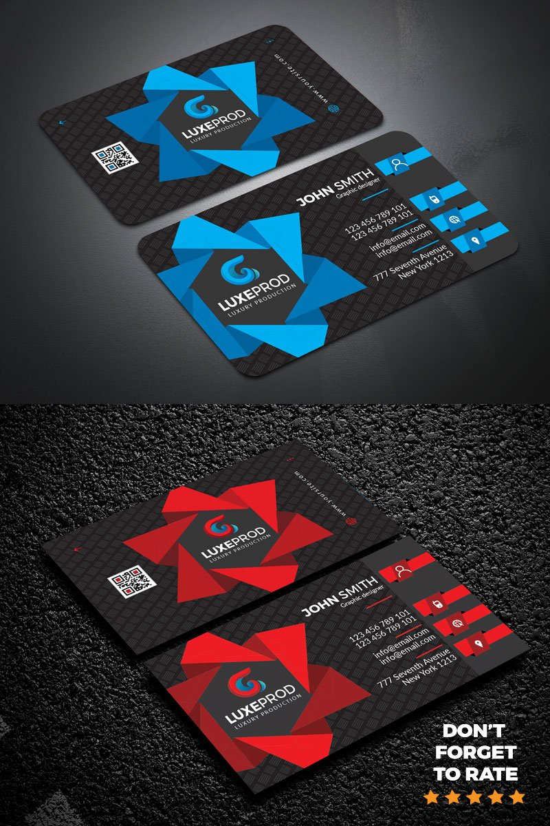 New Styles Business card Corporate Identity Template
