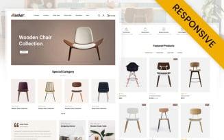Rocker - Furniture Store OpenCart Template