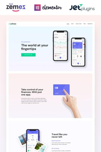 Softwer - Mobile App Development Company Website Template