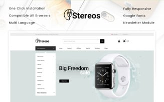 Stereos - Electronics Store OpenCart Template