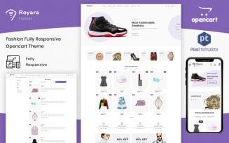 Royara - Fashion Multistore Store OpenCart Template