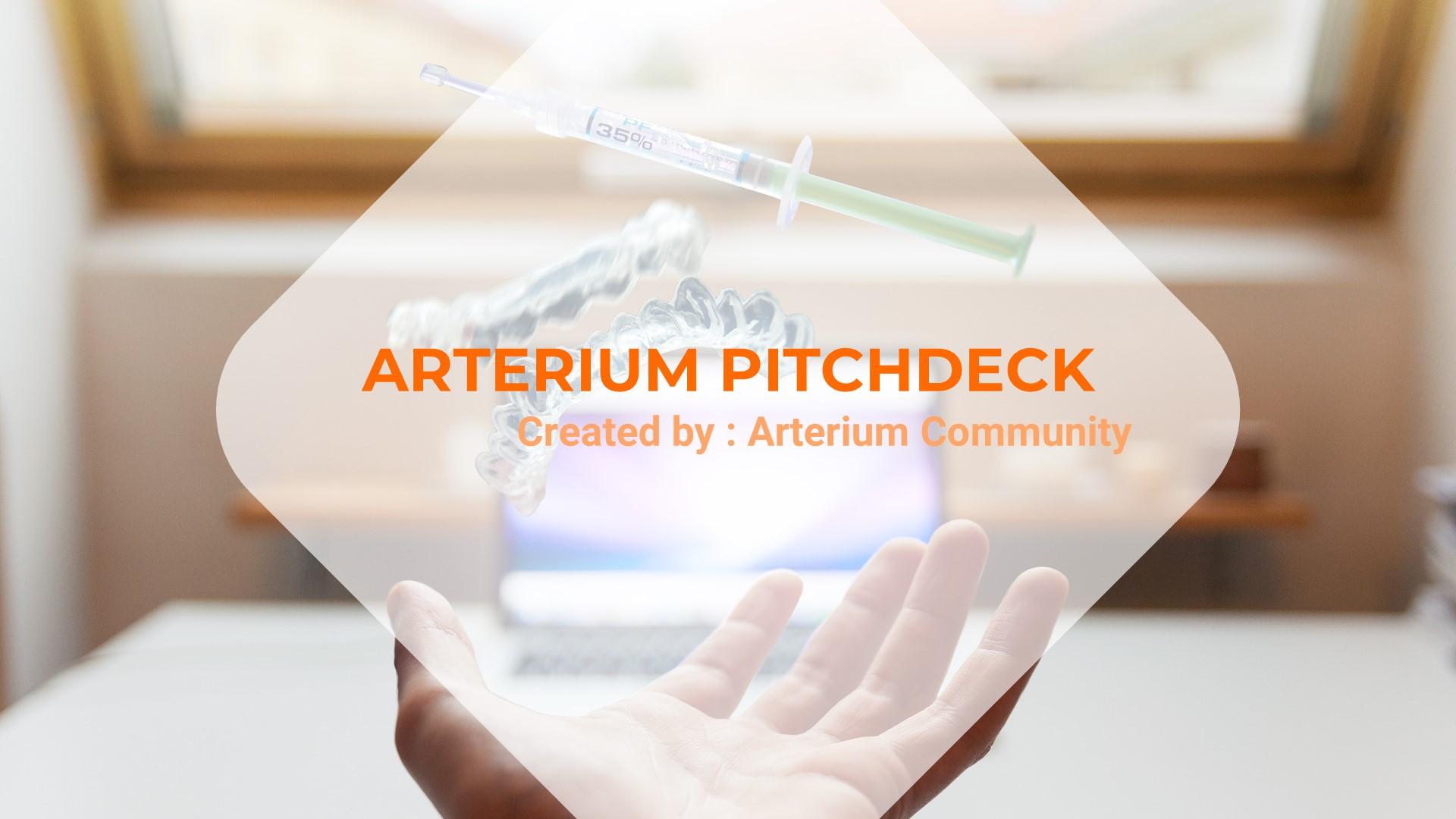 """""""Arterium - Creative Medic"""" modèle PowerPoint  #87430"""