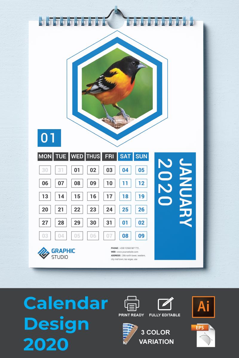 Calendar 2020 Planner