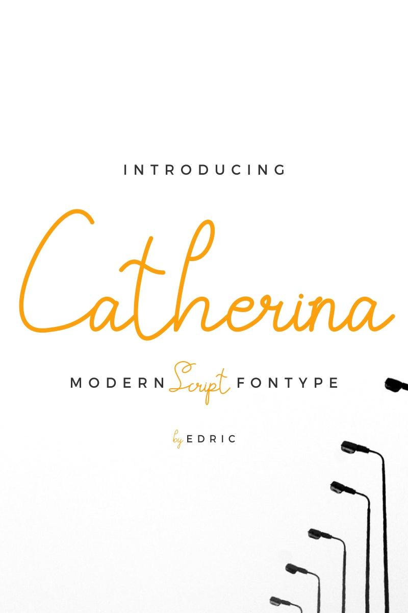 """Catherina"" police de caractère  #87420"