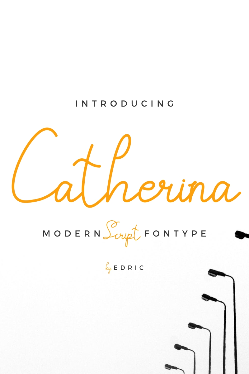 "Font ""Catherina"" #87420"