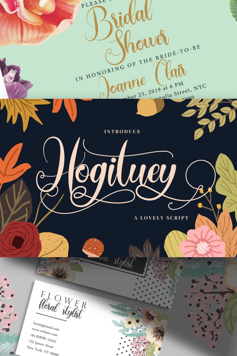 "Font ""Hogituey 
