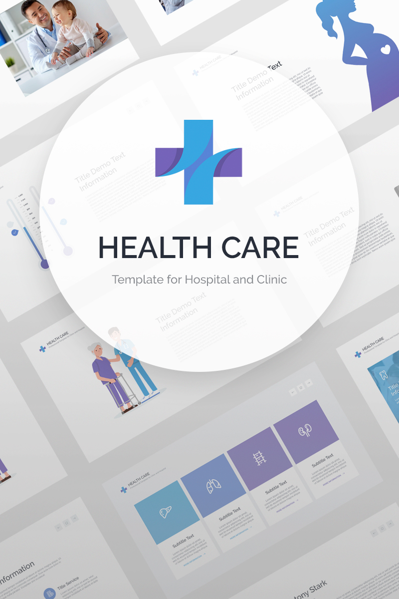 Health Care Template para Keynote №87433