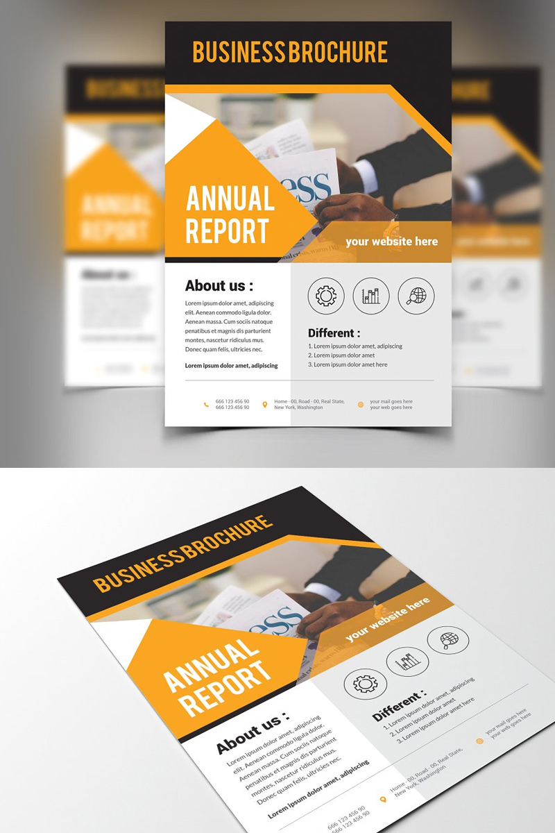 Jumping Corporate Identity Template