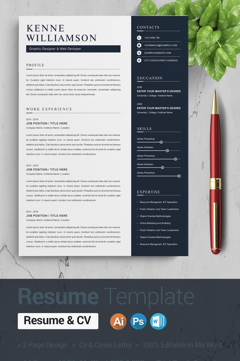 Kenne Willia Resume Template #87414