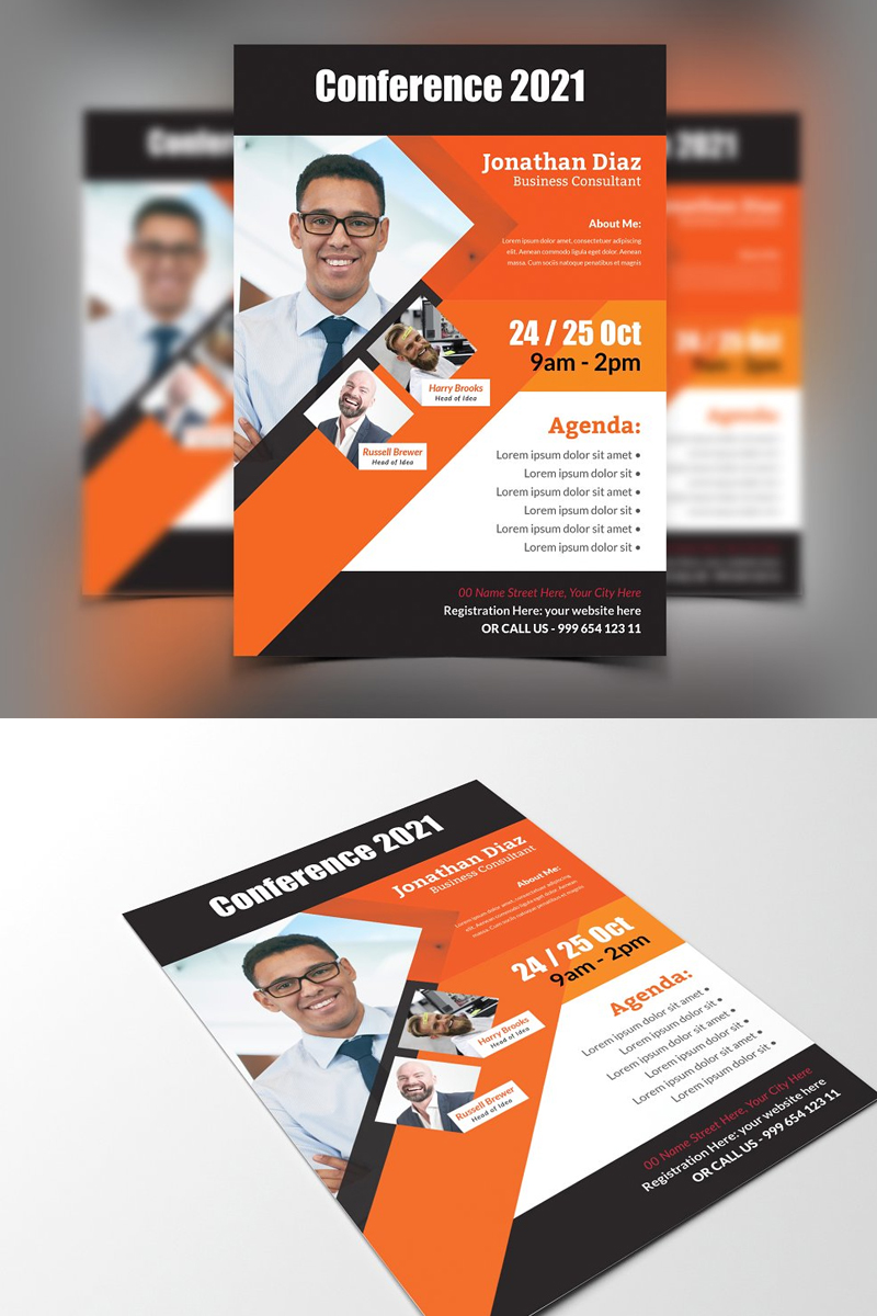Lenore Corporate Identity Template