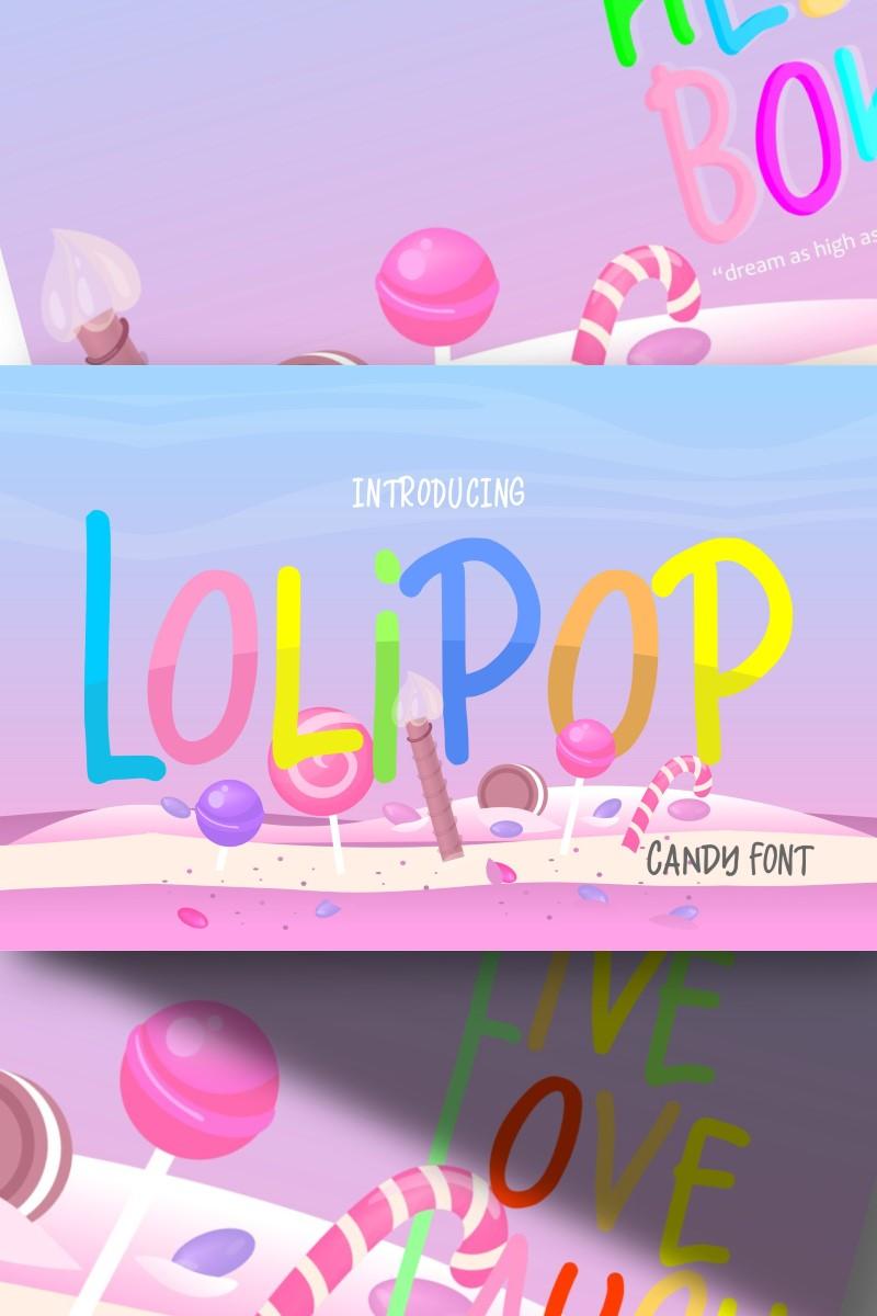 Lolipop | Candy Funny Yazıtipi #87425